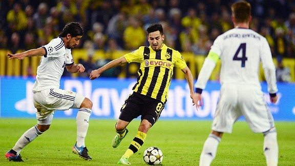Gundogan wants a move away from Dortmund