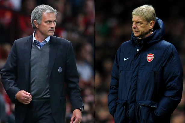 FILE-Jose-Mourinho-And-Arsene-Wenger-Enter-War-Of-Words-3153637