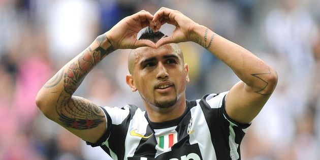 Vidal has commited his future to the Old Lady