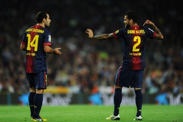Mascherano and Dani Alves - past their 'use by' date?