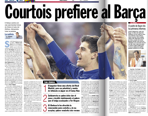 Report published in Sport