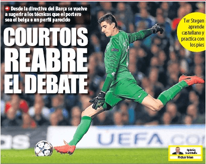 Front page of Mundo Deportivo