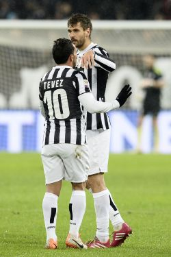 Tevez and Llorente are on Conte's plan for next year.