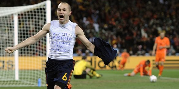 Andres Iniesta World Cup 2010 Images