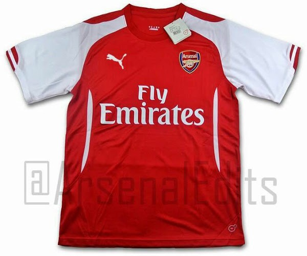Arsenal 14-15 Home Kit 1