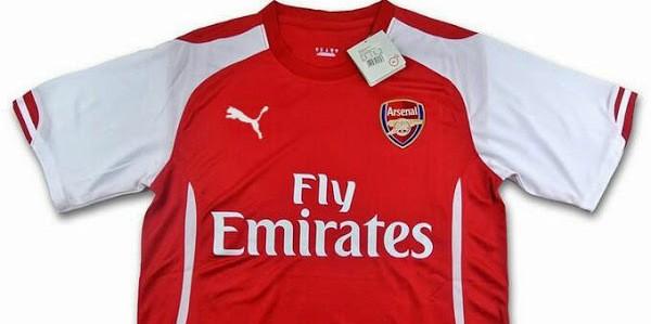 huge discount c4c94 969a4 LEAKED? Arsenal 2014/15 Puma Kits | Sportslens