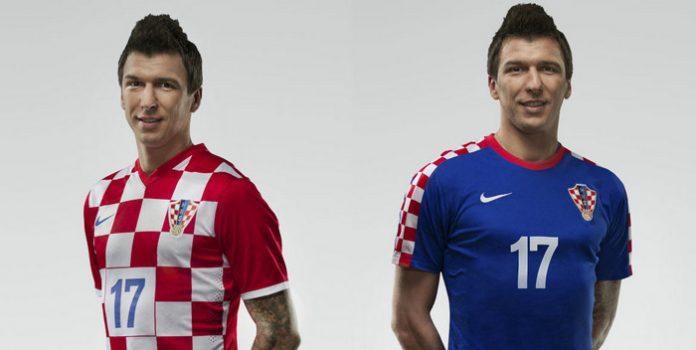 Croatia 2014 Home and Away Kits