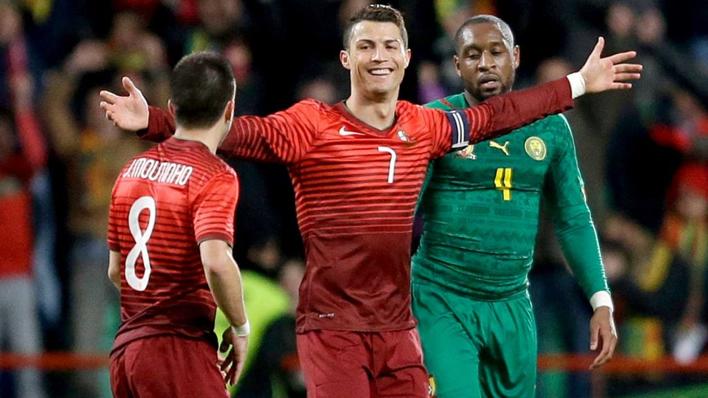 Portugal Cameroon Soccer
