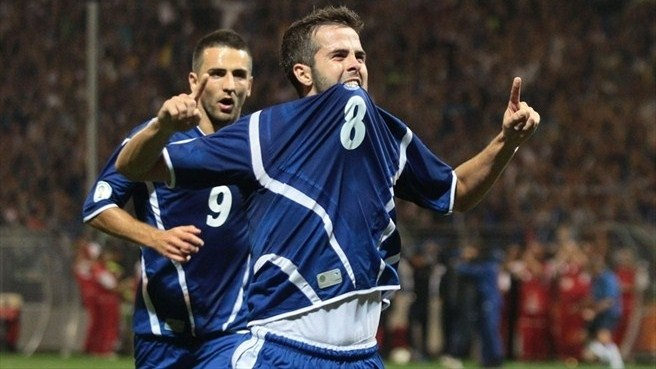 Bosnia Herzegovina and AS Roma's Miralem Pjanic, a supremely talented gamble pick (Photo: www.uefa.com)