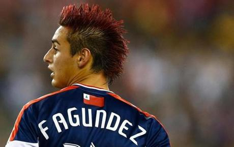 The MLS Messi, but who will Fagundez represent internationally?  [Photo: www.bostonglobe.com]