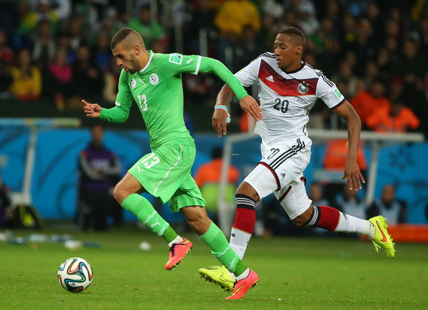 2014 FIFA World Cup play-off match: Germany 2 ñ 1 Algeria