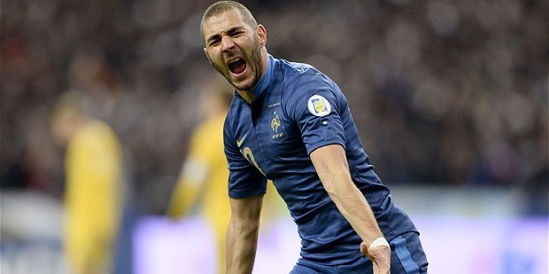 Benzema has been linked with a move to Arsenal all summer