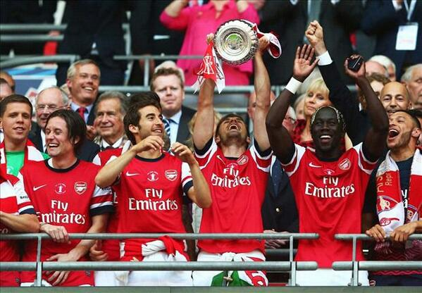 Arsenal 2014 FA Cup winners