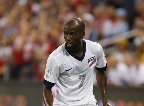 DaMarcus Beasley is heading back home to Major League Soccer, this time he will be heading to the Houston Dynamo. Photo by Kyle Rivas/Getty Images