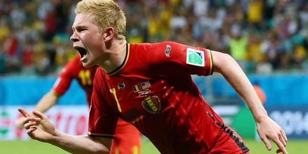 Kevin De Bruyne was the best player in Bundesliga last season