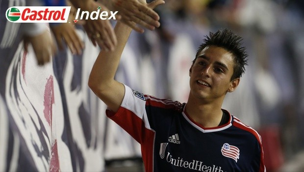 Fagundez has a strong bond with his hometown club the New England Revolution [Photo: www.mlssoccer.com]