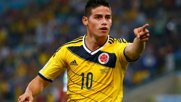 James Rodríguez and the rest of the Colombian National team could be heading to Texas on Sept. 9, to face the USMNT. Photo provided by CBC.