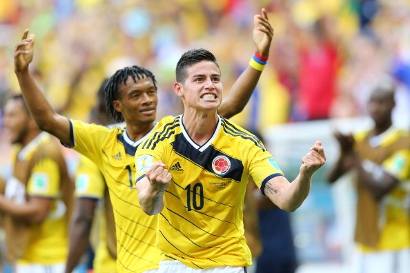 James Rodríguez and the rest of the Colombian National team will not be playing the U.S. in Sept., due to written contracts falling apart. Photo provided by Getty Images.