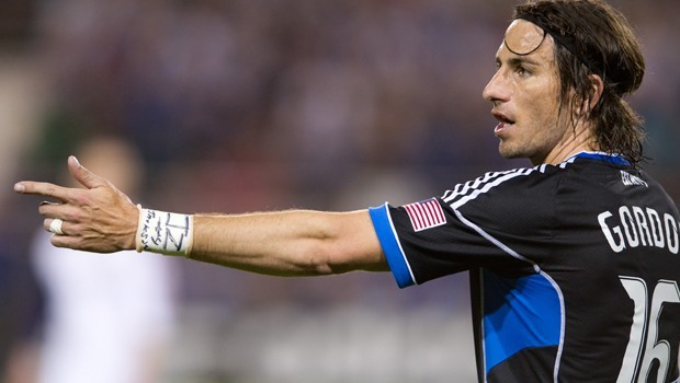 Alan Gordon will be leaving the San Jose Earthquakes, after a trade was completed between San Jose and the Galaxy on Monday. Sending the Southern California native back home. Photo provided by the San Jose Earthquakes.