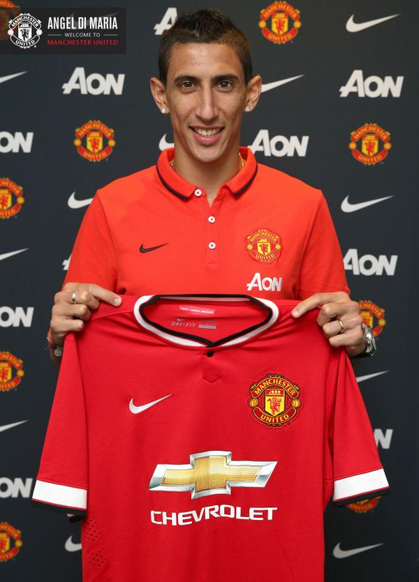 5 Reasons Why Manchester United Fans Will Love Angel Di Maria