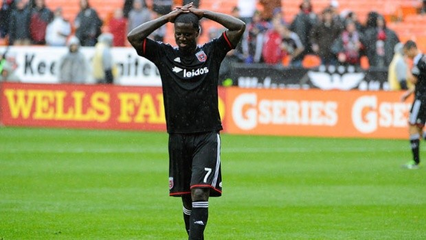 Eddie Johnson was handed a two game suspension from Major League Soccer on Wednesday. Photo provided by SportSpyder.com