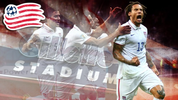 On Sunday, Jermaine Jones became an official member of the New England Revolution. Photo provided by the RevolutionSoccer.net.