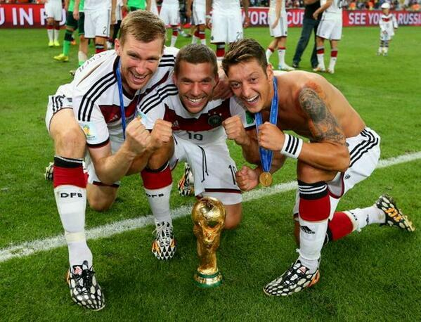 Arsenal German trio
