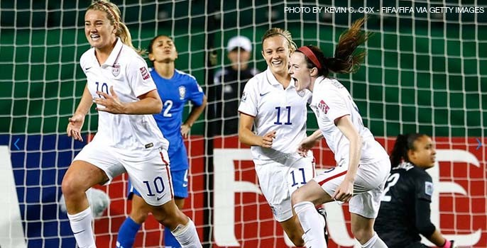 The U.S. U-20 Women's National team will be facing North Korea DPR in the quarterfinals of the 2014 U-20 Women's World Cup on Saturday in Toronto. Photo provided by womensoccerunited.com.