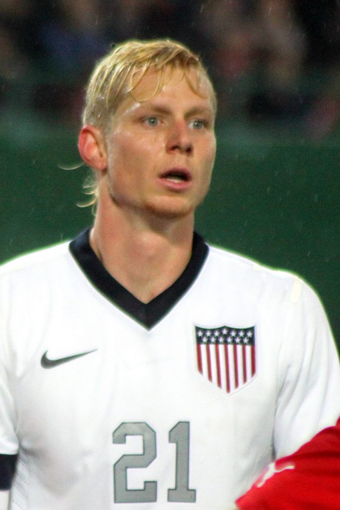 Brek Shea dream start for the Blues against Leeds United on Saturday at St. Andrew's Stadium. Stock Photo.