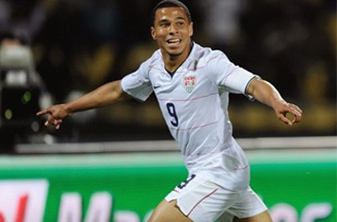 Can Charlie Davies continue his excellent recent form and work his way back to the national team? Photo provided by rumorsandrants.com.