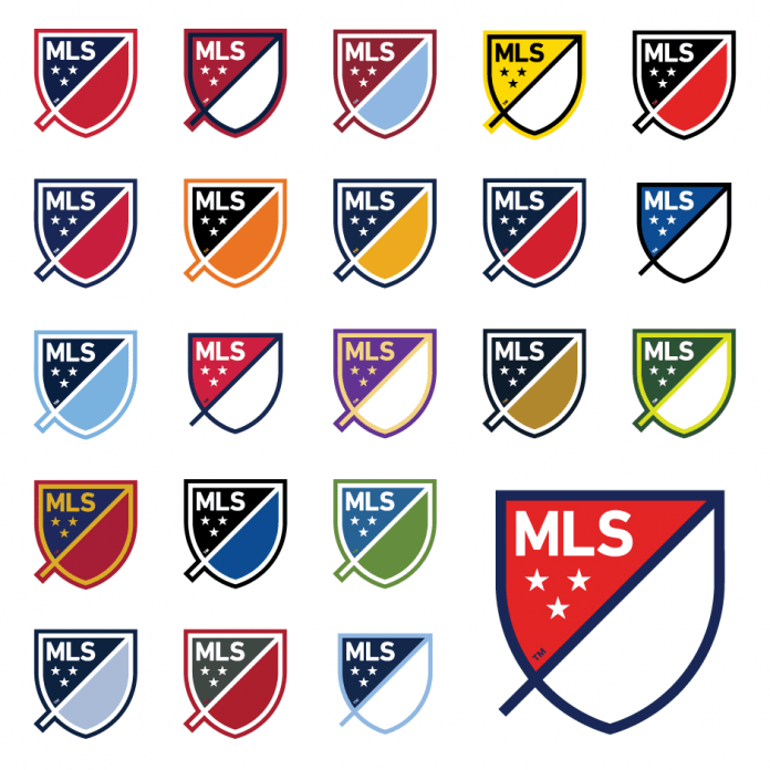 On Thursday Major League Soccer announced, that their clubs will all be able to take part with the new logo, as the symbol colors will adjust to the teams colors. Photo provided by Major League Soccer and USA Today.