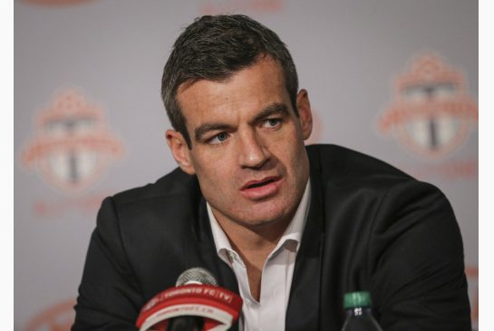 Ryan Nelsen has been fired from Toronto FC on Sunday, with just 10 games left of the Major League Soccer season remaining. Photo provided by thestar.com