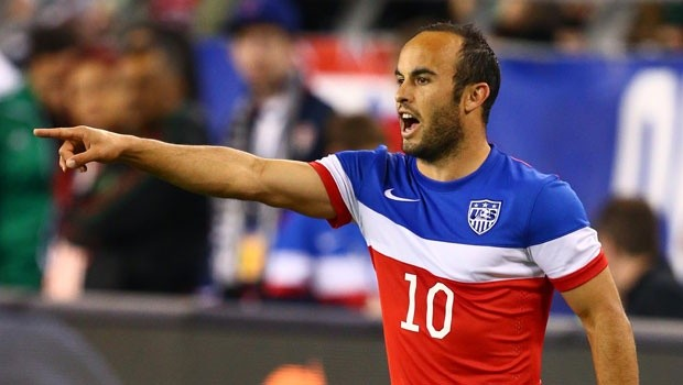 """Landon Donovan has placed his name in the record books of the """"All Time greatest American soccer player"""", by breaking another record in Major League Soccer. Photo provided by mlssoccer.com."""