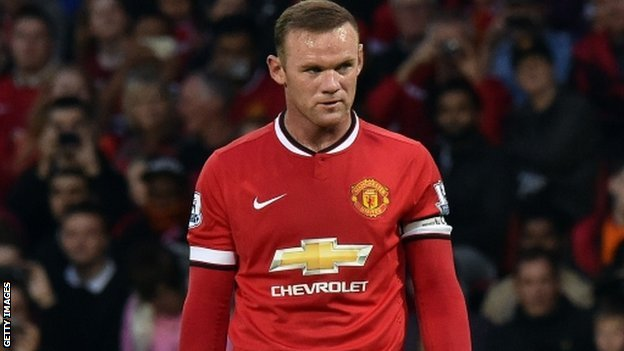 Wayne Rooney to miss Liverpool clash with Hamstring Injury