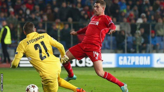 Ludogorets vs Liverpool