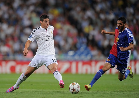 Basle vs Real Madrid
