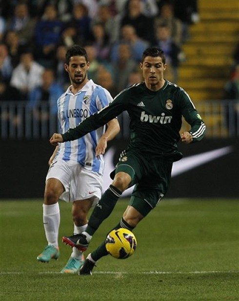 Isco scored against Real Madrid in 2012 in a Malaga home win