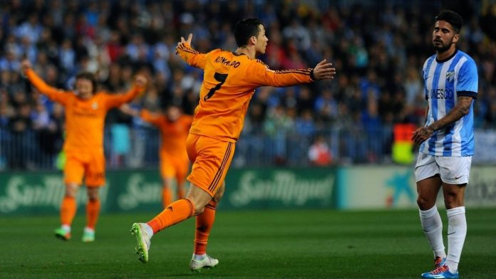 Cristiano scored the only goal in last season's win at Malaga