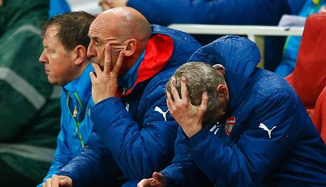 Arsenal 'tactically clueless'