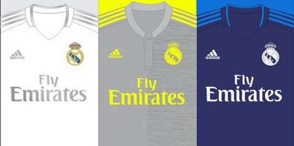 huge discount 020bc d65d0 Real Madrid 15-16 kits Leaked