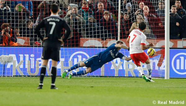 Iker made a crucial second half penalty save