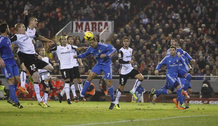 Cristiano scored in his last match at Mestalla
