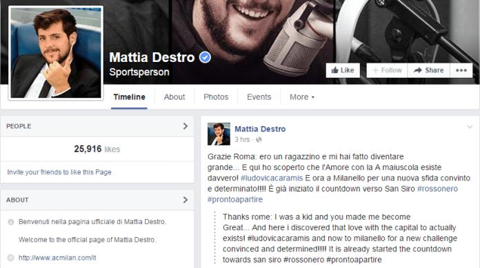 Mattia Destro