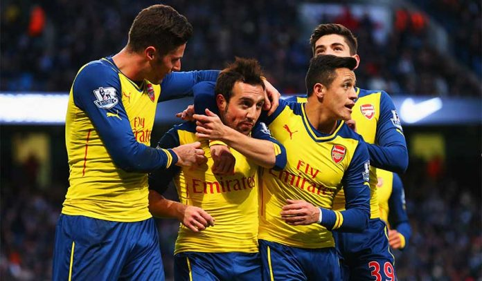 Arsenal emerged victorious in a tough away fixture.