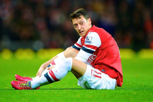 Ozil was outstanding against Palace