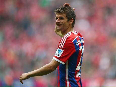 Manchester United are willing to pay 80 million euros for Thomas Muller