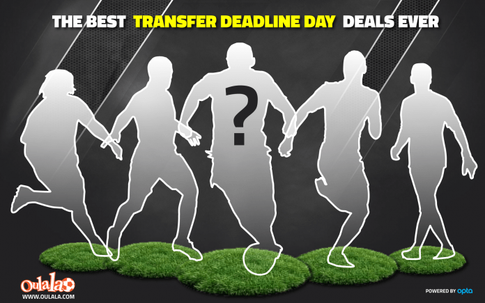 [REVEALED] The Five Best Premier League Transfer Deadline Day Deals EVER! | Sportslens