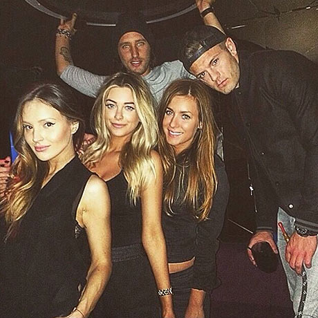 Jack Wilshere was pictured holding the shisha pipe