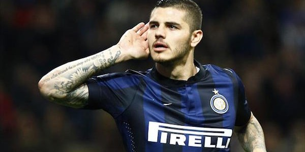 Arsenal have shown interest in Inter Milan's Mauro Icardi
