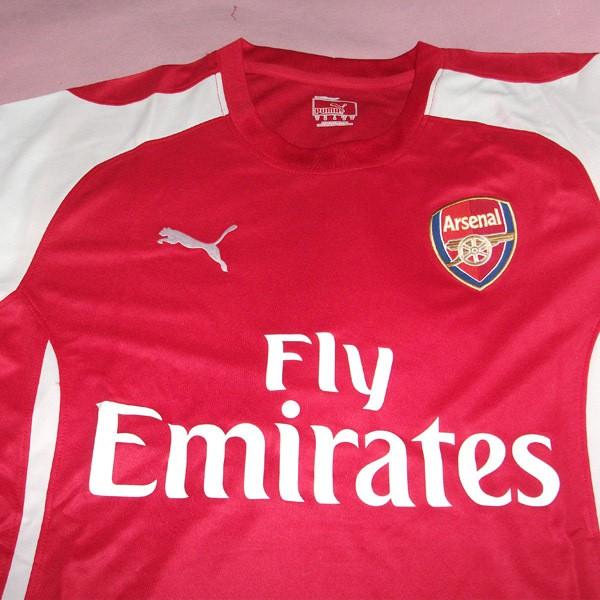 b4f3e2d6e 14 15 Arsenal Home Soccer Jersey Football Shirt 02425